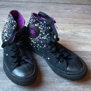 Converse All Star | Paint Splattered Sneakers